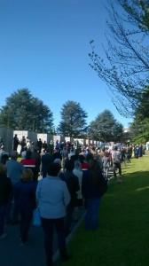 25 Aprile 2016 folla campo della Gloria