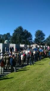 25 Aprile Campo della Gloria folla