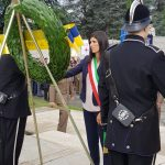 Chiara Appendino omaggia i partigiani