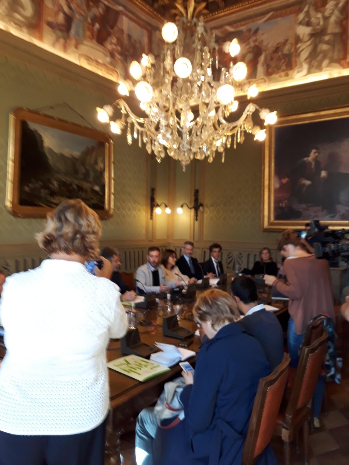 Conferenza stampa Tempio ortodosso 2