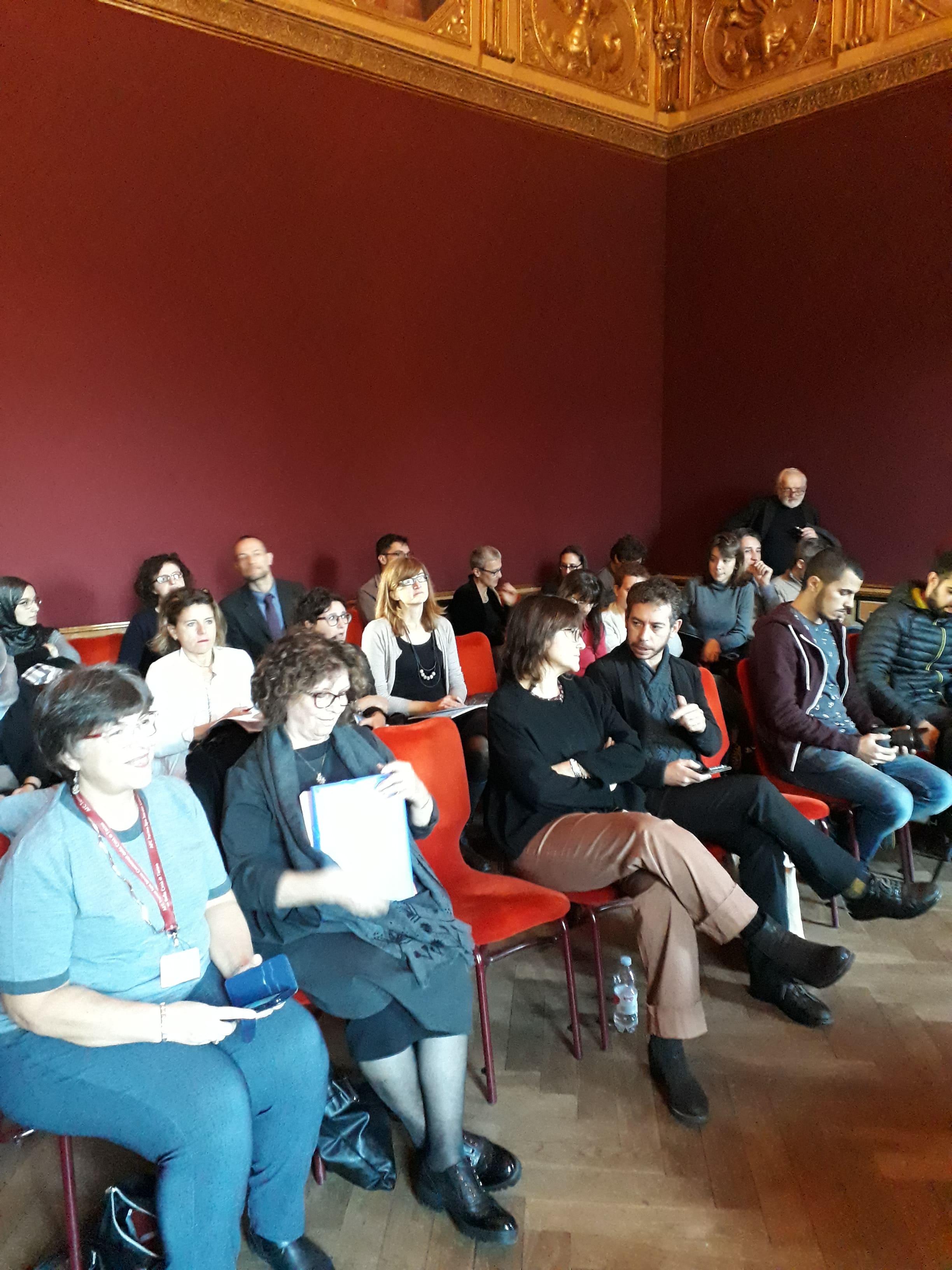 Conferenza su fine vita e intercultura sala