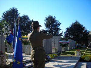 Alcuni momenti della Cerimonia per l'Armistizio francese dello scorso anno