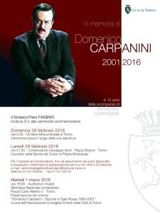 Domenico Carpanini 2001-2016