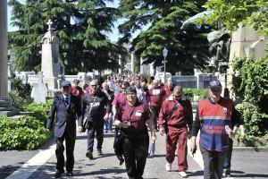 In centinaia per il Grande Torino al Monumentale
