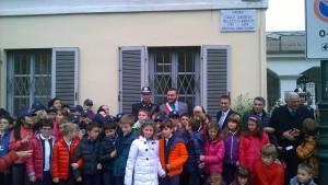 Inaugurazione Piazzale Falletti di Barolo con scolaresche