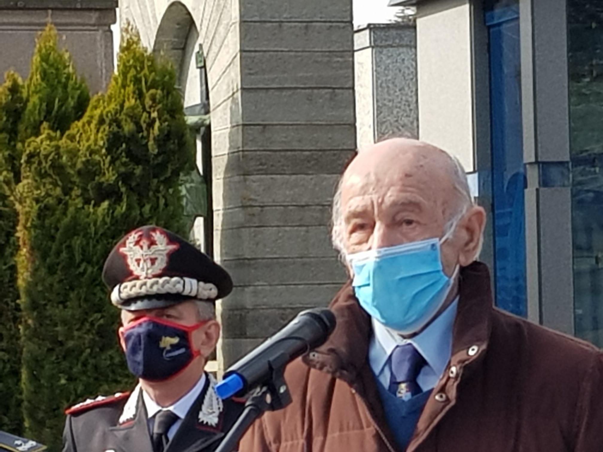 Presidente Associazione esuli Istriani- Giuliani -Dalmati