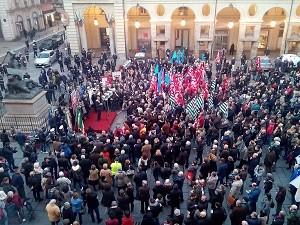 Torino in piazza  foto di Claudio Raffaelli