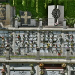 Balconata cimitero di Cavoretto
