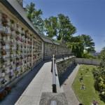 Complessi cellette in uso al cimitero Cavoretto