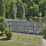 Vista del cimitero di Cavoretto