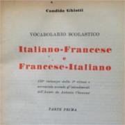 Immagine del vocabolario italiano-francese