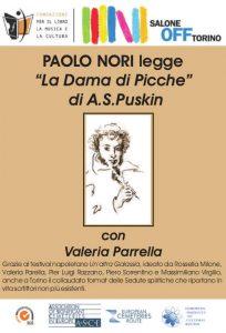 Locandina reading Paolo Nori