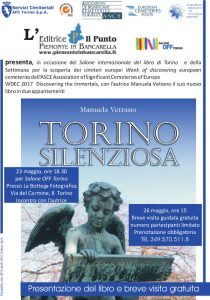 Locandina presentazione Torino Silenziosa